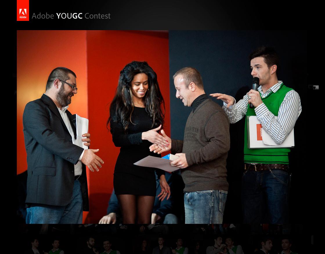 Adobe-YOUGC-contest-premiazione