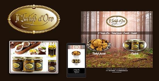 Realizzazione sito internet vetrina per prodotti alimentari