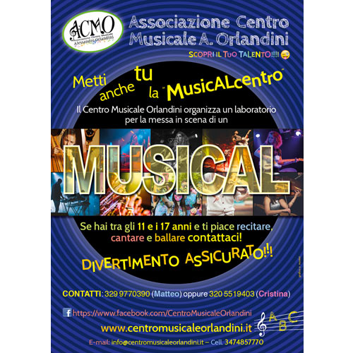 Locandina ACMO evento MUSICAL