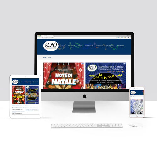 Realizzazione sito internet Associazione Musicale