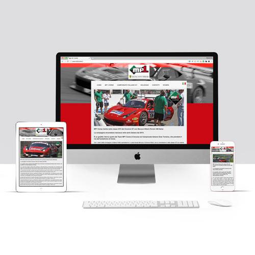 Realizzazione sito internet per Racing Team