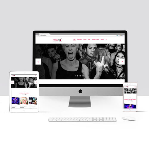 Esempio sito internet per fotografi