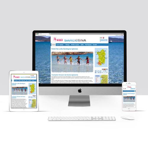 Esempio sito internet per Hotel