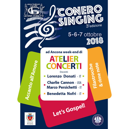 Flyer per Conero Singing