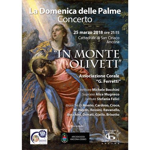 Manifesto per Coro Giovan Ferretti – Domenica delle Palme