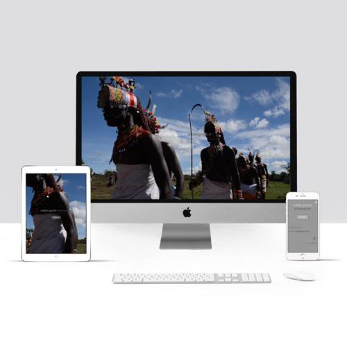 Realizzazione sito internet per Fotografo