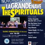 Manifesto The Spiritual 2018 Teatro Sperimentale Ancona