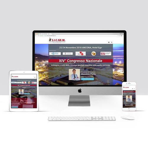 Congressi, realizzazione sito internet 2020