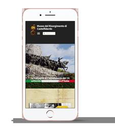 Museo del Risorgimento; sito visto su un mobile