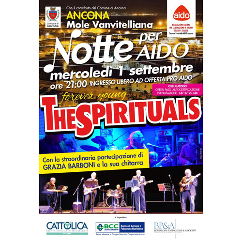 Read more about the article The Spirituals 2021 1 Settembre – Ancona