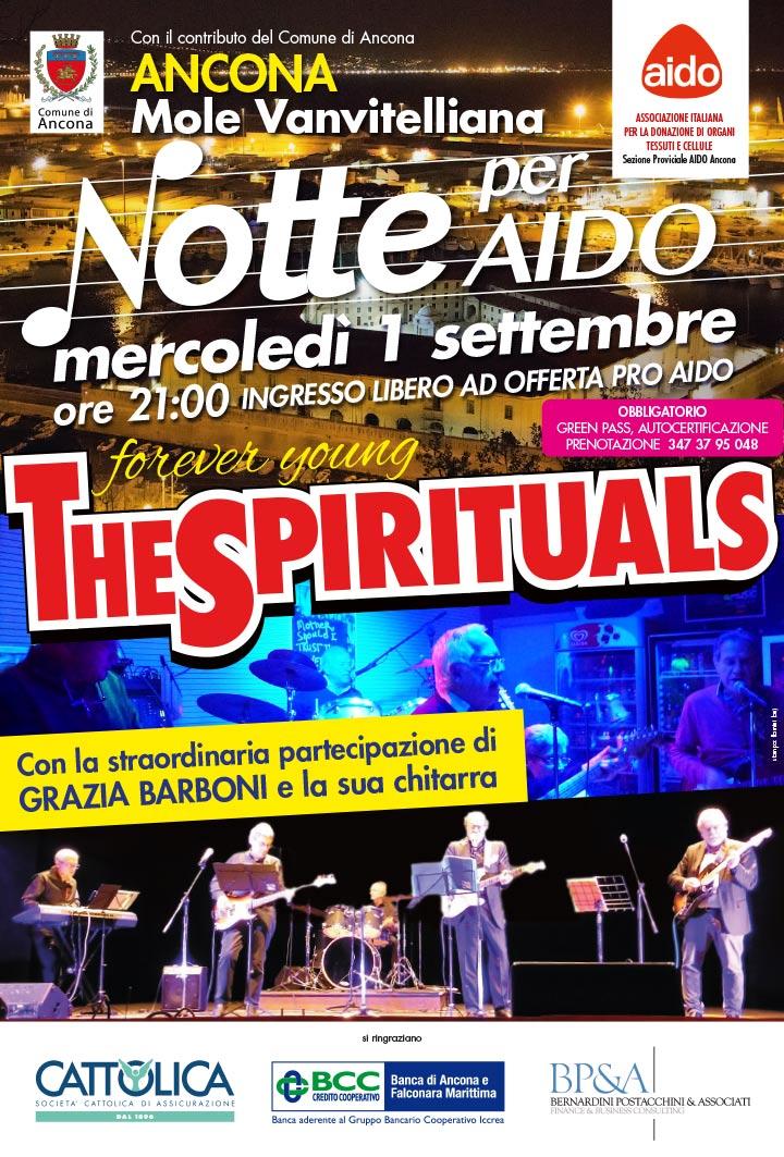 The Spirituals 2021 1 SETTEMBRE, Ancona Mole Vanvitelliana