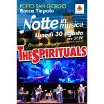 The Spirituals 2021 30 agosto, Rocca Tiepolo