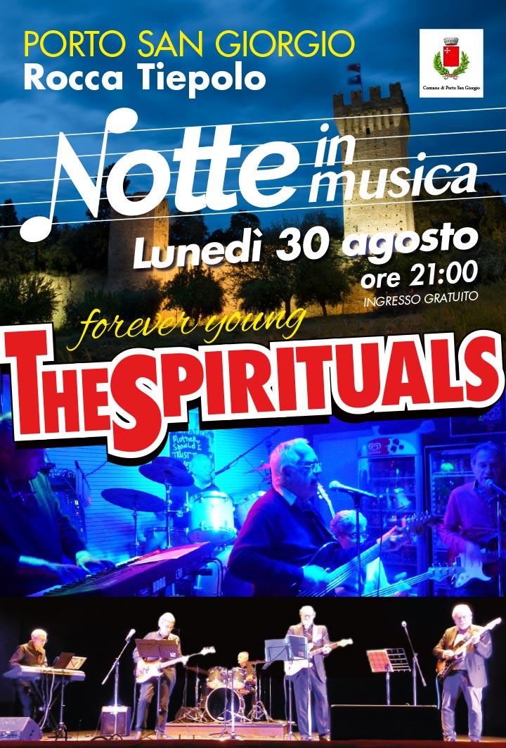 The Spirituals 2021 30 agosto, Porto San Giorgio Rocca Tiepolo