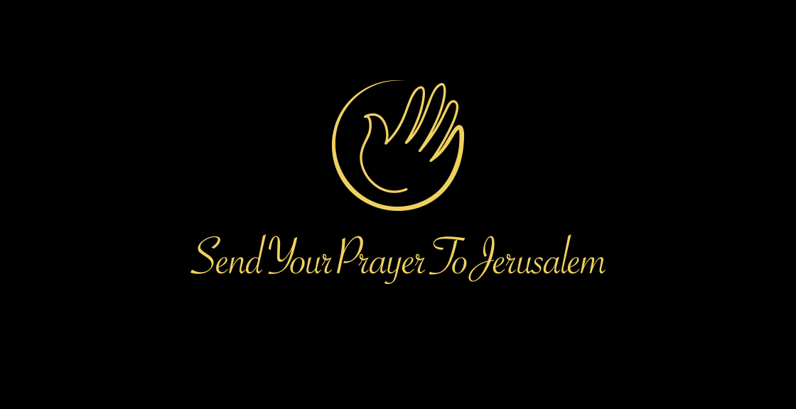 Marchio e logotipo Send your Prayer to Jerusalem