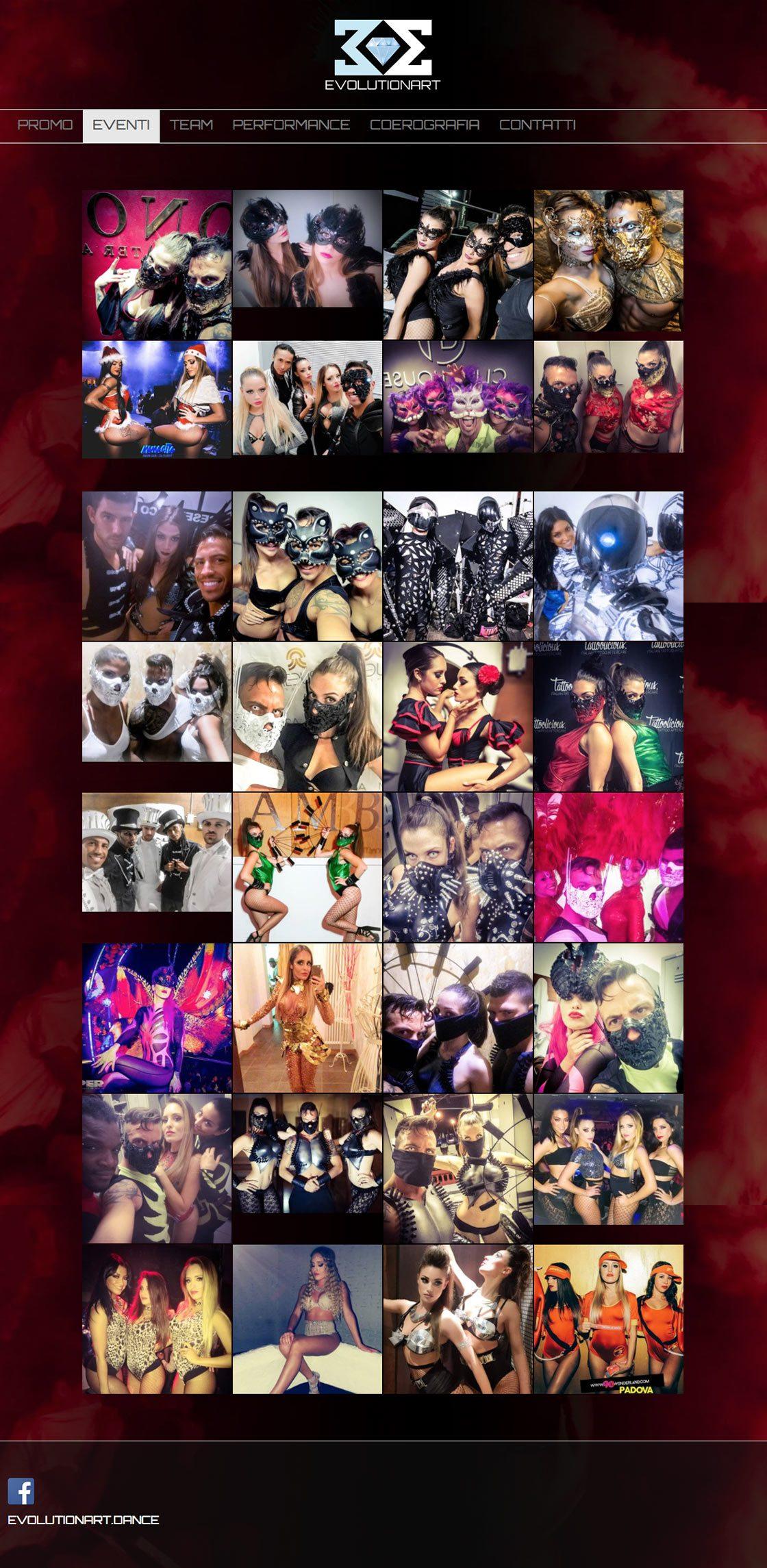 evolutionart eventi instagram gallery