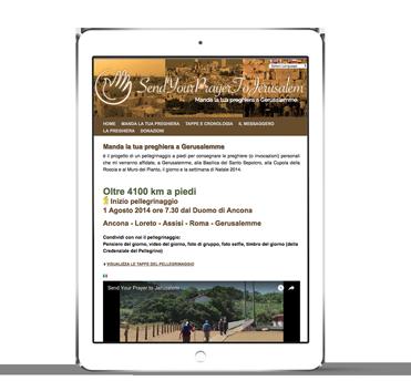 iPad-SendYourPrayerToJerusalem